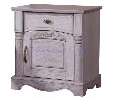 Деревянная тумба Паола ящик дверка