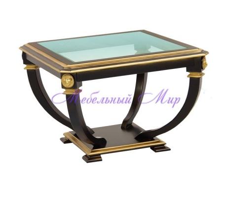 Купить журнальный стол Лев квадрат золото
