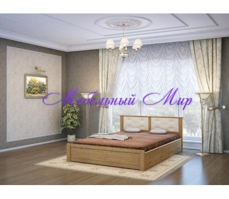 Кровать из массива Глория