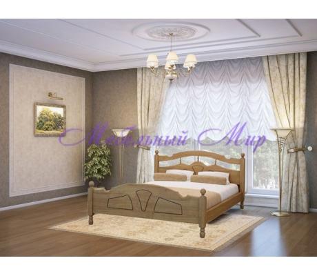 Кровать из массива Солнце