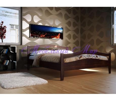 Кровать с элементами ковки Талисман