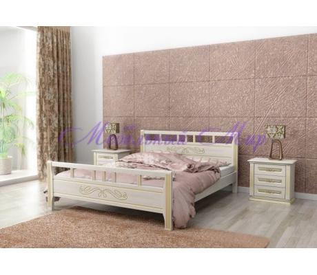 Кровать деревянная  Веста