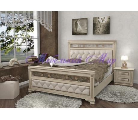 Кровать с элементами ковки Виттория
