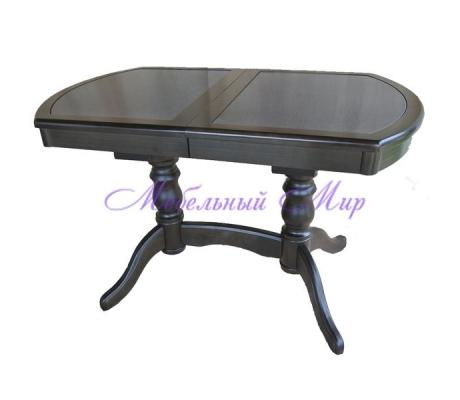 Купить кухонный стол Илья кермогранит темный