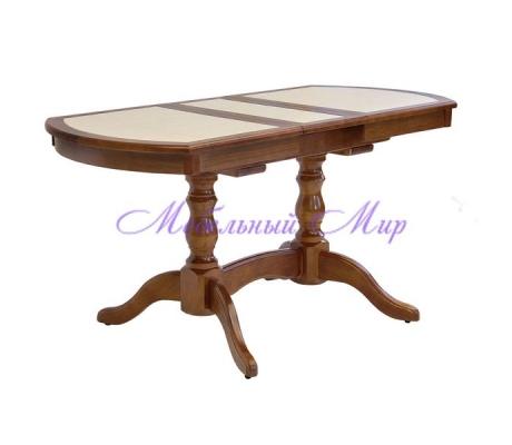 Купить кухонный стол Илья кафельный радиусный