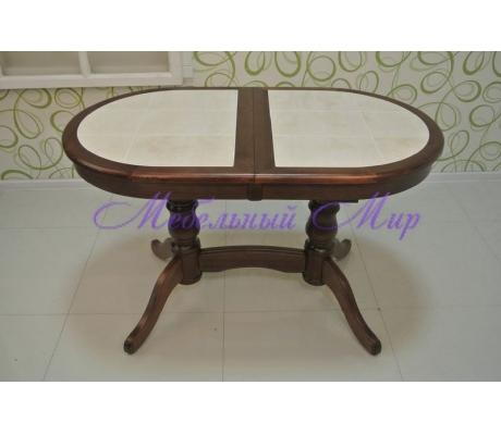 Купить кухонный стол Илья кафельный раздвижной