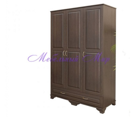 Купить распашной шкаф 3 створчатый Витязь 106