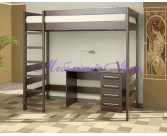 Купить детскую кровать Икея чердак с письменным столом