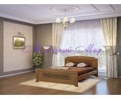 Кровать из массива дерева Афина