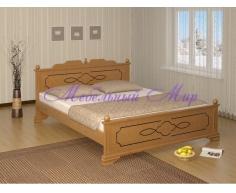 Кровать из массива дерева Афродита