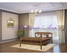 Кровать из массива дерева Эра