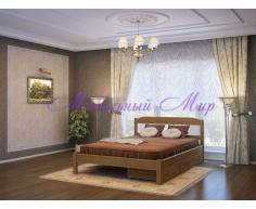 Кровать из массива дерева Эра тахта
