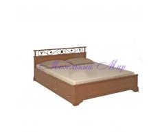 Кровать с элементами ковки Ева тахта