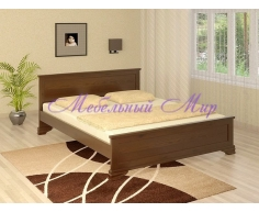 Кровать из массива дерева Гармония
