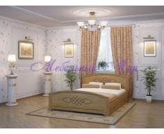Двуспальная кровать Гера