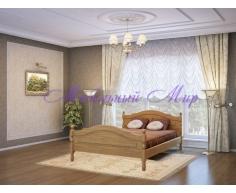 Кровать из массива дерева Герцог