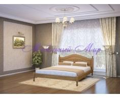 Кровать из массива дерева Герцог тахта с рисунком