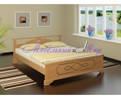 Кровать из массива дерева Ирида