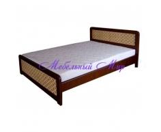 Кровать с мягким изголовьем  Классика(ткань)