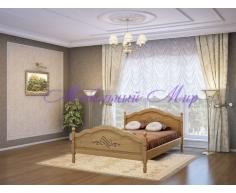Кровать из массива дерева Лама