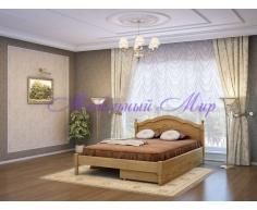 Кровать из массива дерева Лама тахта