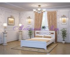 Кровать из массива дерева Лира