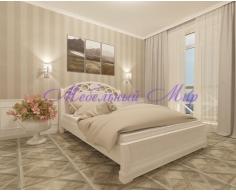 Кровать из массива дерева Лорена