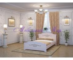 Кровать из массива дерева Муза