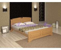 Кровать из массива дерева Нефертити