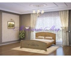 Кровать из массива дерева Нова
