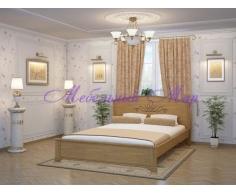 Кровать из массива дерева Нова тахта
