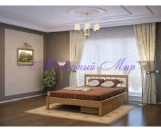 Кровать из массива дерева Сакура тахта