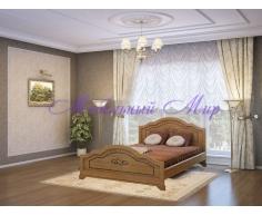 Кровать из массива дерева Сатори