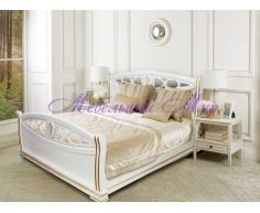 Кровать из массива дерева Сиена