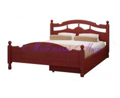 Кровать с ящиками для хранения Солнце