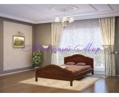 Кровать из массива дерева Сонька