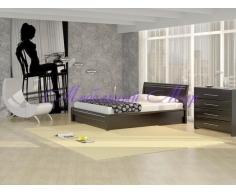 Кровать из массива дерева Стиль 2А