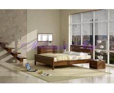 Кровать из массива сосны Стиль 3А