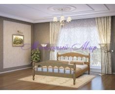 Кровать из массива дерева Точенка