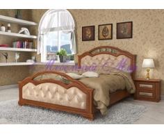 Кровать из массива дерева Венеция