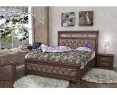 Кровать из массива дерева Виттория тахта