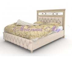 Кровать с элементами ковки Виттория тахта 2