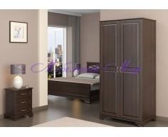 Купить распашной шкаф 2 створчатый Витязь 104
