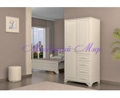 Купить распашной шкаф 2 створчатый Витязь 109