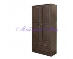 Купить распашной шкаф 2 створчатый Витязь 111