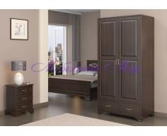 Купить распашной шкаф 2 створчатый Витязь 122