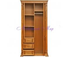 Купить распашной шкаф 2 створчатый Верди 1108